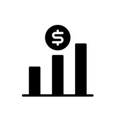 Sales icon financial icon vector