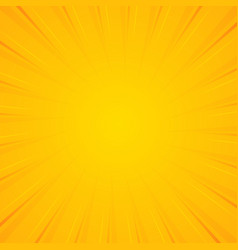 sunburst background background with radial lines vector image
