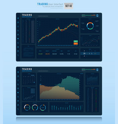 Trading user interface 002 vector
