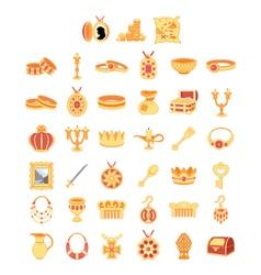 Treasures vector