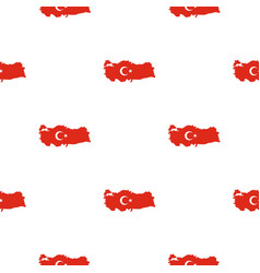 Turkey map pattern seamless vector