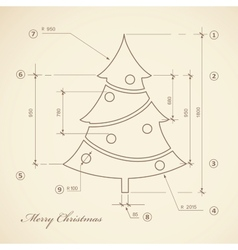Vintage Christmas vector