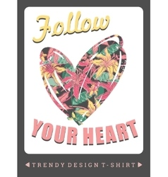 with the slogan for t-shirts vector image