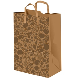 Grocerie Paper bag vector image vector image