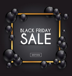 black friday sale can be used for website and vector image