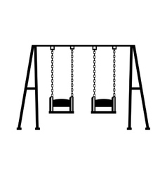 swing game children icon vector image