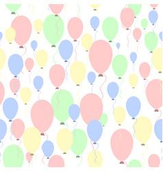 air balloons pattern vector image