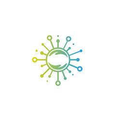 care share logo icon design vector image