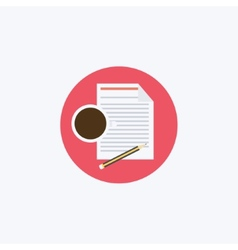 Flat Business vector image