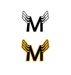 m-exhaust-logo vector image