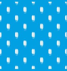 pillow pattern seamless blue vector image