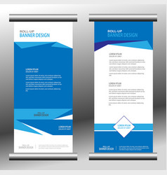 roll up banner 032 vector image