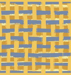 Weave wicker style seamless pattern vector