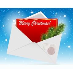 envelope card vector image vector image