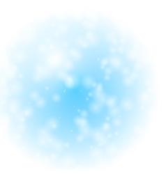 winter fantasy vector image