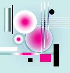 abstract bright multicolored background vector image