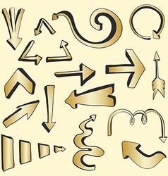 Arrows3 vector image vector image