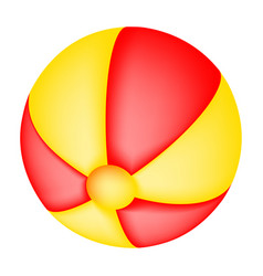 beach ball symbol icon design vector image