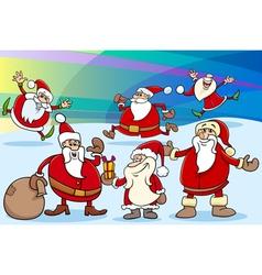 Christmas cartoon vector