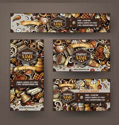Corporate identity templates set design vector