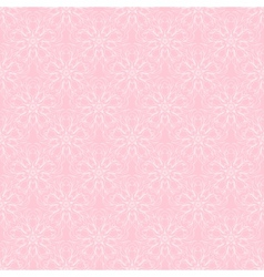 Delicate openwork floral seamless vector image