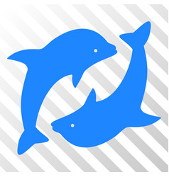 Dolphins eps icon vector