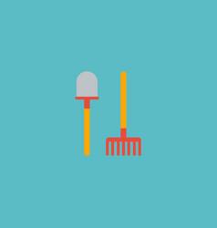 flat icon shovel element of vector image