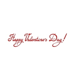 Happy Valentine s day and vector image