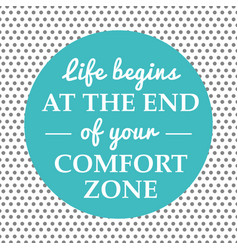 life begins quote vector image