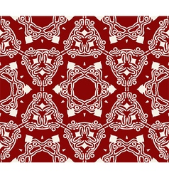 Seamless pattern Endless abstract background vector image vector image
