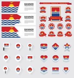 SET Kiribati vector image vector image