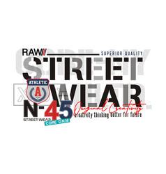 Street wear vector