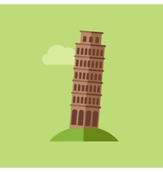 Tower of Pisa vector image
