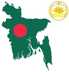 Bangladesh Flag vector image