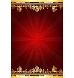 shiny frame vector image vector image