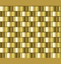 gold gradient pattern vector image