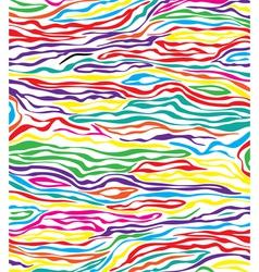 skin texture of zebra vector image