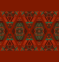 African ethnic style seamless pattern vector