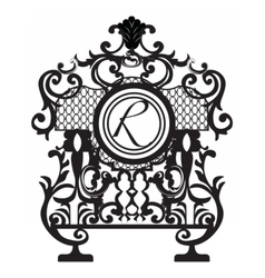 Baroque Ornament Decor element vector image