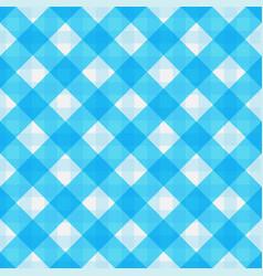 Blue retro tablecloth texture vector