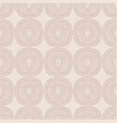 Buddha seamless nude pattern mandala background vector