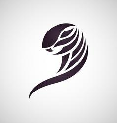 cobra snake logo vector image