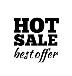 hot sale label sticker banner symbol vector image