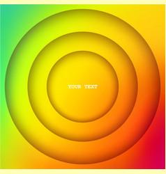 Layered circles banner vector