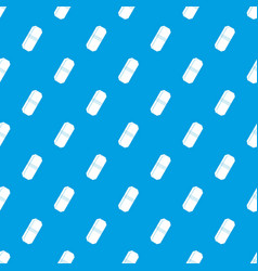 pencil eraser pattern seamless blue vector image