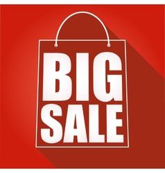 Poster big sale vector image