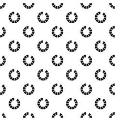 Preloader progress pattern simple style vector