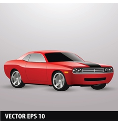 Red american vector