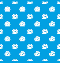 speedometer pattern seamless blue vector image