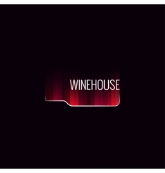 Wine bottle abstract background vector